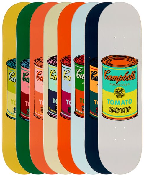 Andy Warhol-Campbell Soup Cans-Skateboards - aptiques by Authentic PreOwned