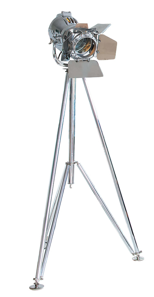 Polished Aluminum Stagelight - aptiques by Authentic PreOwned