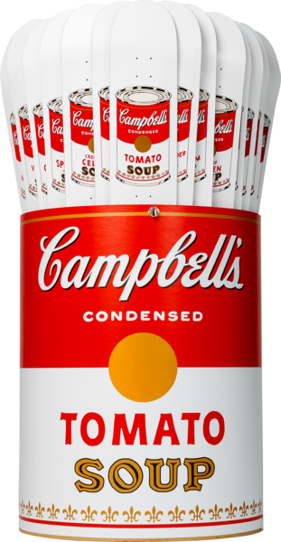 Andy Warhol-32 Campbell's Soup Can Skateboards