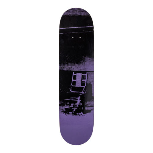 Andy Warhol-Electric Chair Purple-Skateboard - aptiques by Authentic PreOwned