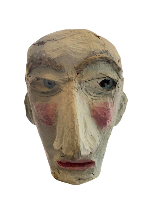 Marti Gras Face Sculpture - aptiques by Authentic PreOwned