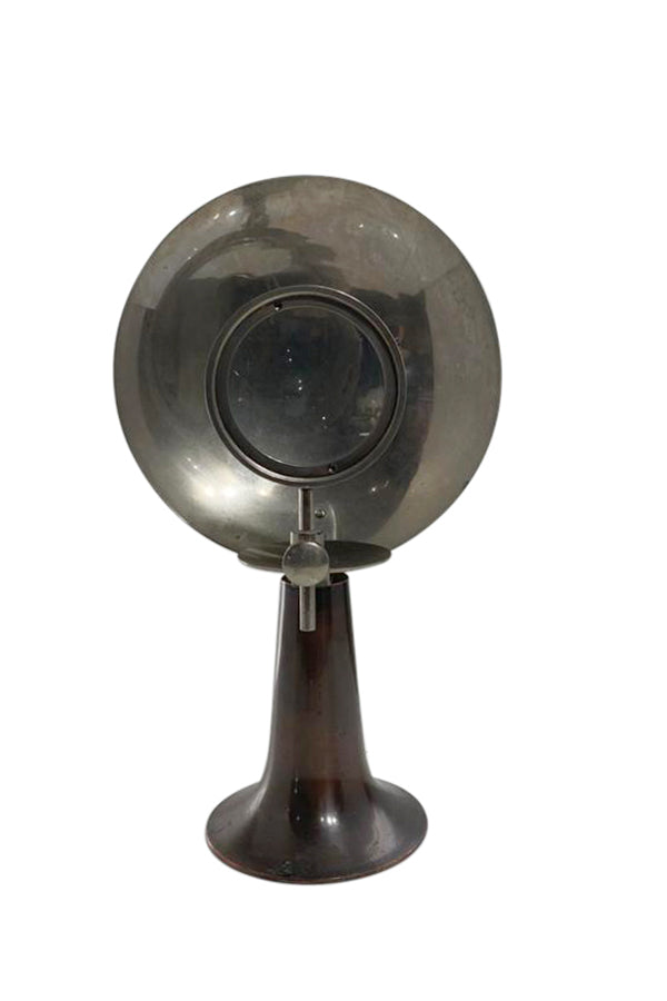 Early 20th Century Parabolic Magnifier Medical Lamp