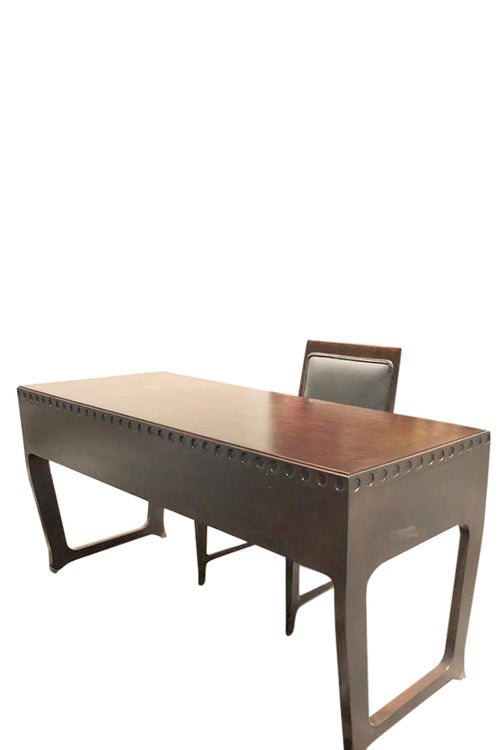 """Gio Ponti"" Mid-Century  Modernist Desk - aptiques by Authentic PreOwned"