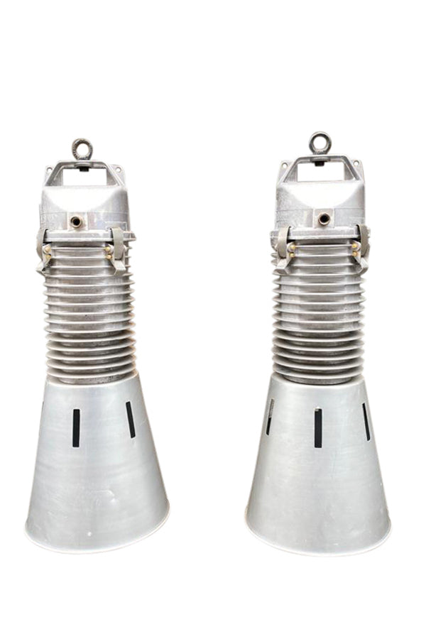 Phillips Industrial Airport Lights - aptiques by Authentic PreOwned