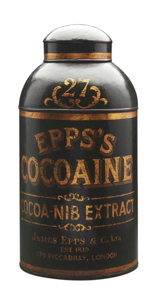 Vintage Epp's Cocoaine Canister - aptiques by Authentic PreOwned