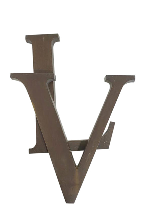 Louis Vuitton Store Signage Logo ( Original) - aptiques by Authentic PreOwned
