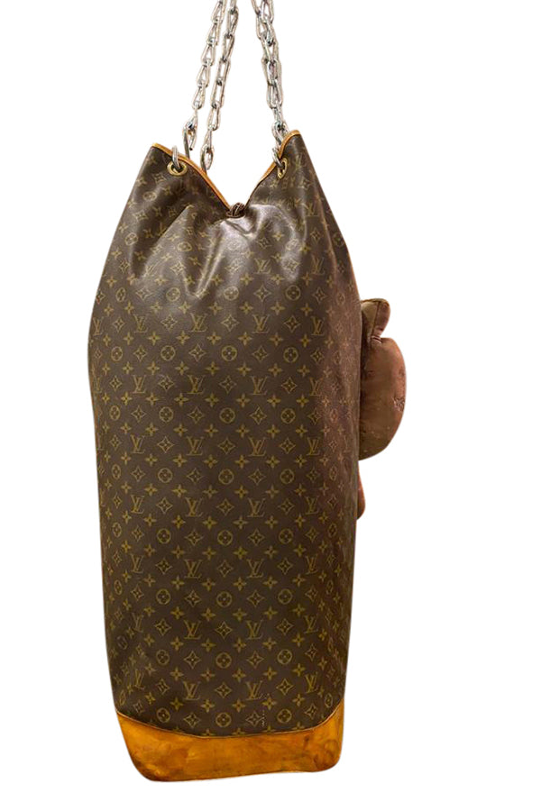 Louis Vuitton Decorative Punching Bag - aptiques by Authentic PreOwned