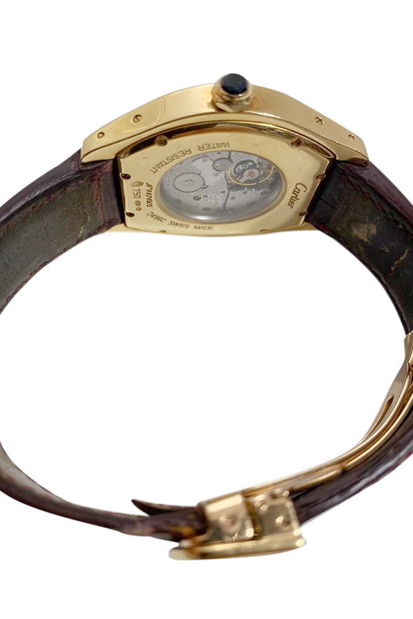 Cartier Tortue Watch 18K Gold and Stainless Steel - aptiques by Authentic PreOwned