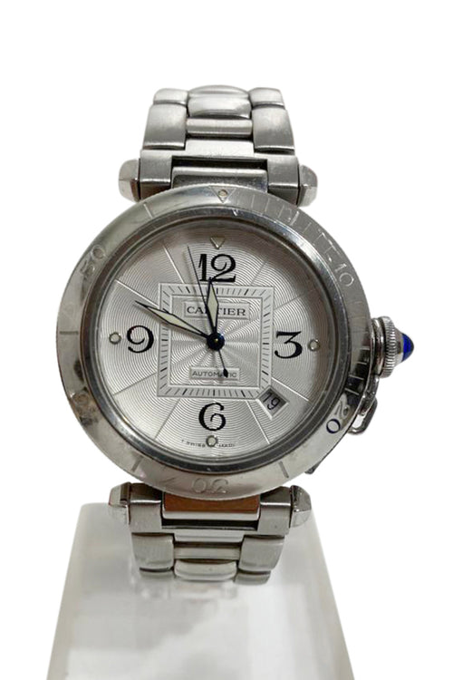 Cartier Pasha Stainless Steel Watch - aptiques by Authentic PreOwned