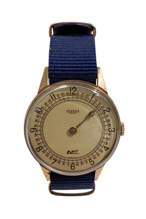 Hermes Single Hand Watch-Rare - aptiques by Authentic PreOwned