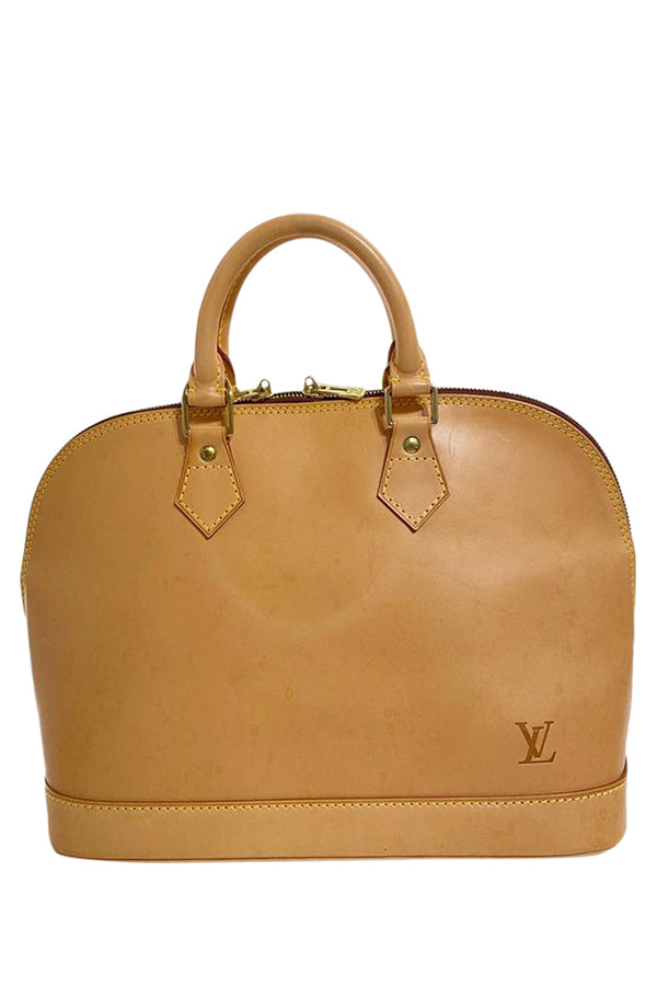 Louis Vuitton Alma MM Handbag - aptiques by Authentic PreOwned