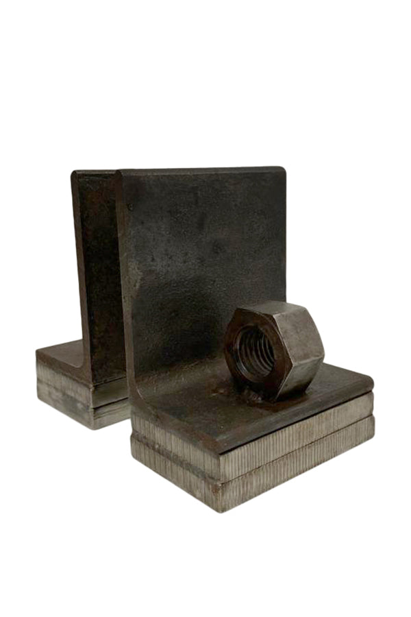 Industrial Book Ends - aptiques by Authentic PreOwned