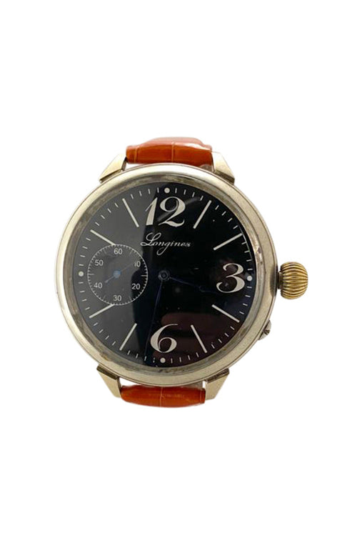 Longines Black Dial Antique Watch - aptiques by Authentic PreOwned