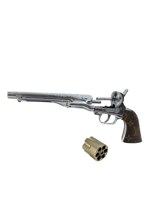 Vintage Hubly Colt 45 Revolver 281 Cap Gun Toy - aptiques by Authentic PreOwned