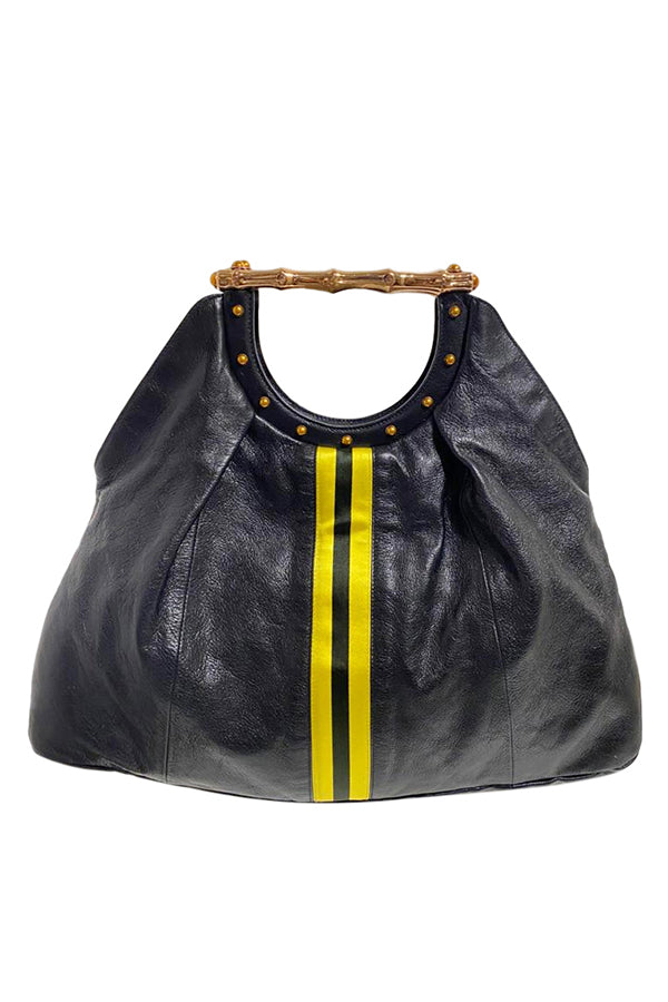 "Gucci by Tom Ford ""Racing Stripe"" Hobo - aptiques by Authentic PreOwned"