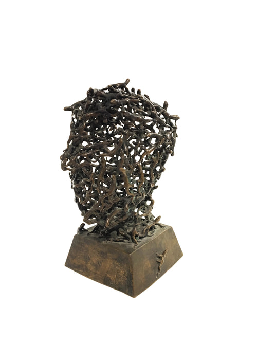 Vintage Bronze Sculpture Dated 1962