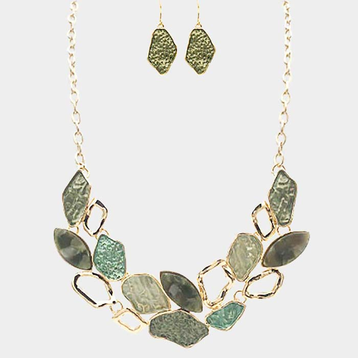 Nina Necklace & Earring Set