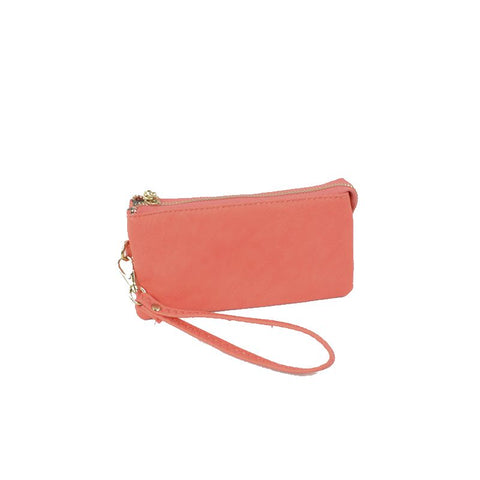 Small Wristlet Wallet - Pink