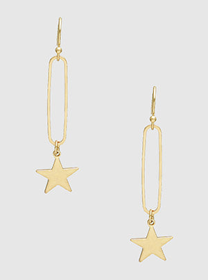 Celestial Earrings in Gold