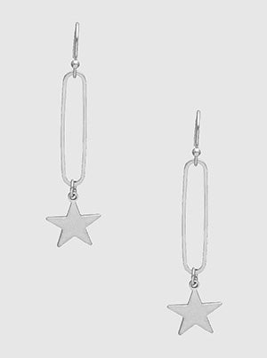 Celestial Earrings in Silver