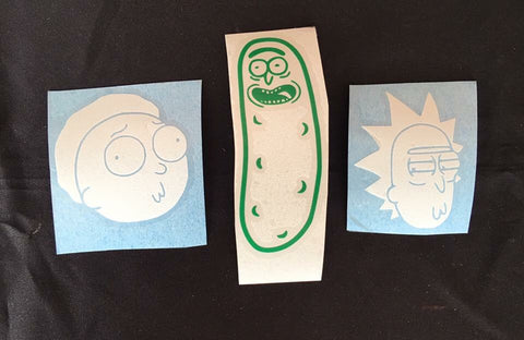 Rick & Morty Stickers