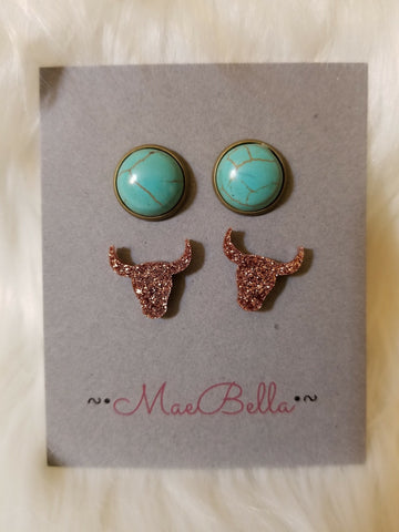 Mae Bella Turquoise and Steer Combo Pack