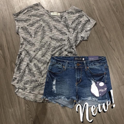 Feather Knit Top
