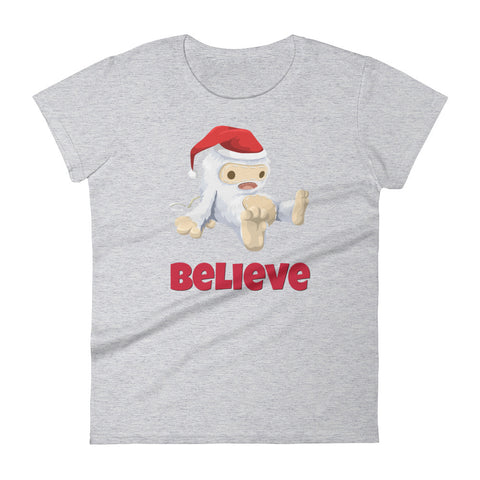 Believe in Abominable Santa