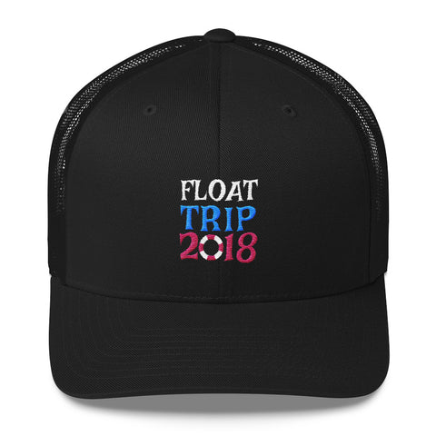 Float Trip Trucker Cap