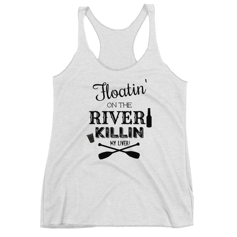 Floatin' on the River - ladies