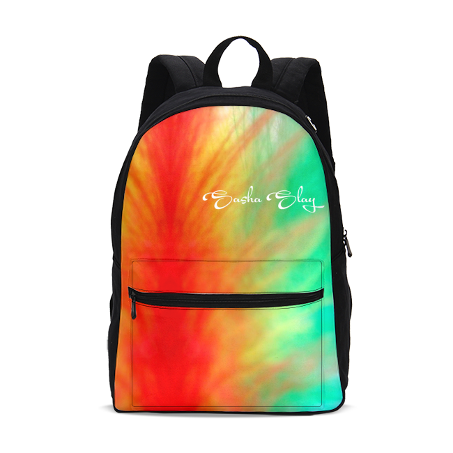 Sunrise Small Canvas Backpack white