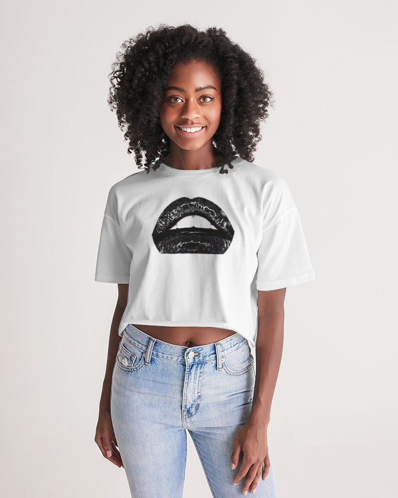 Blackberry Women's Lounge Cropped Tee