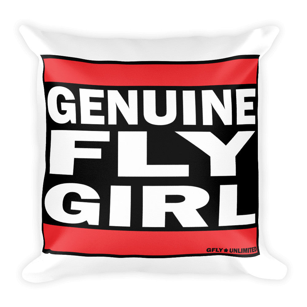 FLY GIRL - Square Pillow