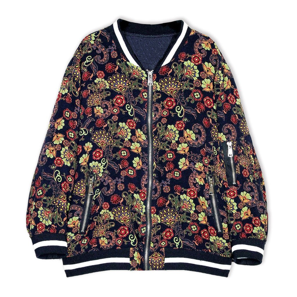 Printed  Bomber Jacket (7-14yrs) - Port 213.com