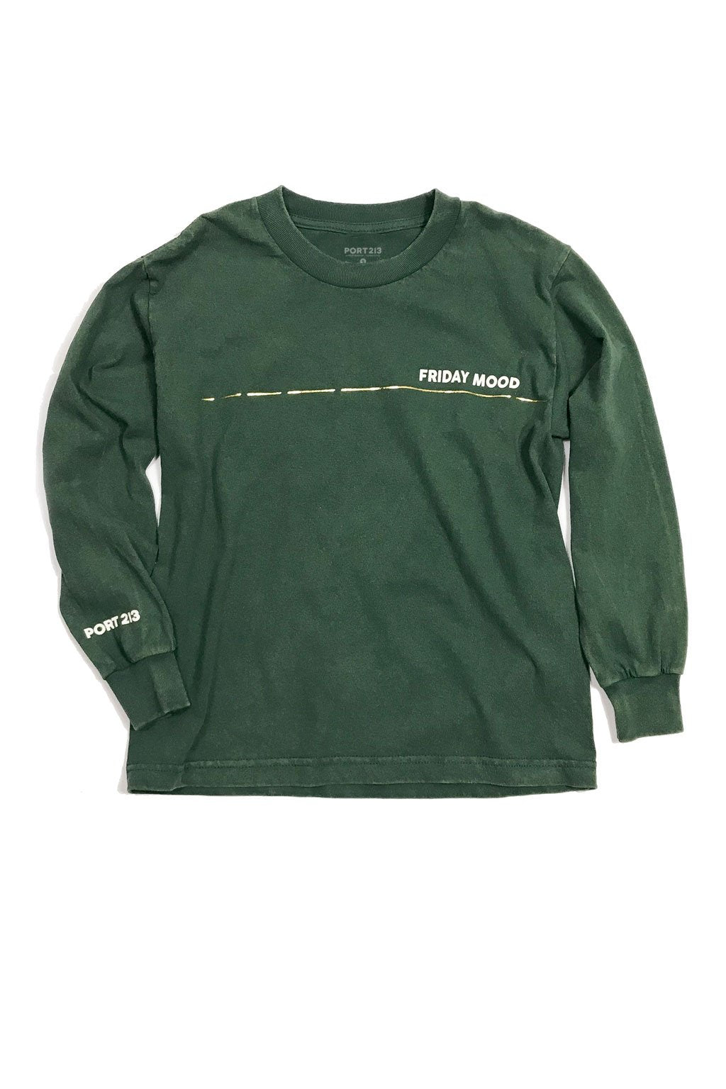Green Friday Mood Long Sleeve T-shirt - Port 213.com