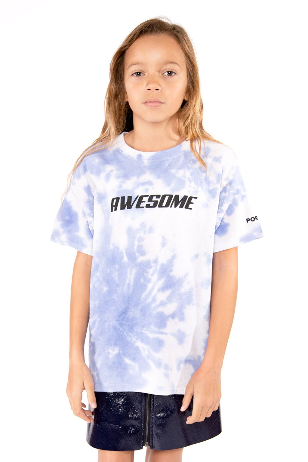 Blue Tie-Dye Awesome T-Shirt - Port 213.com
