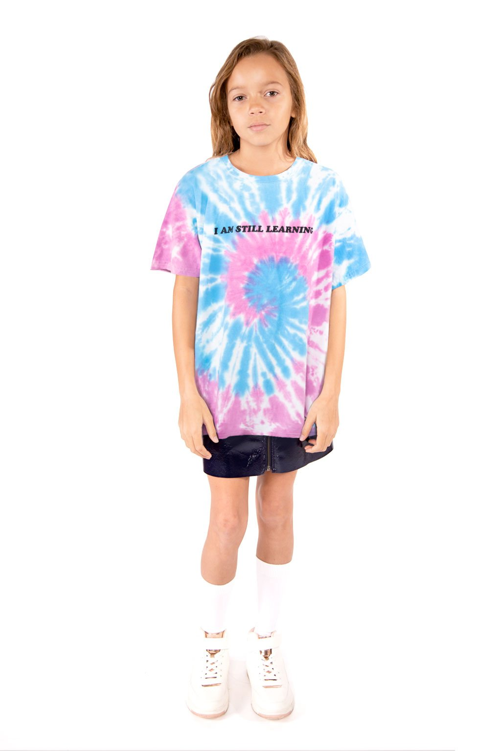 Blue & Pink Tie-Dye T-Shirt - Port 213.com