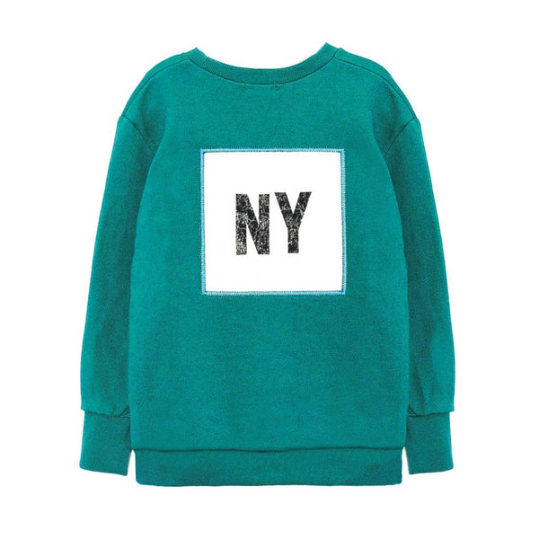 Unisex NY Patch Sweatshirt (3-6yrs) - Port 213.com