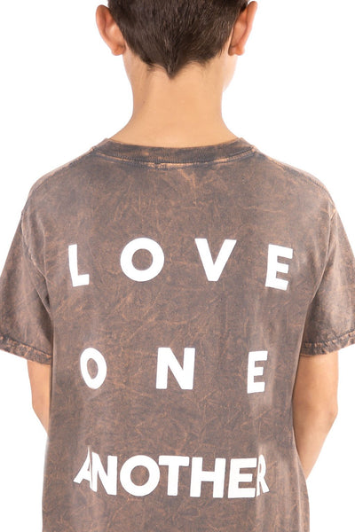Vintage Charcoal Grey Love T-Shirt - Port 213.com