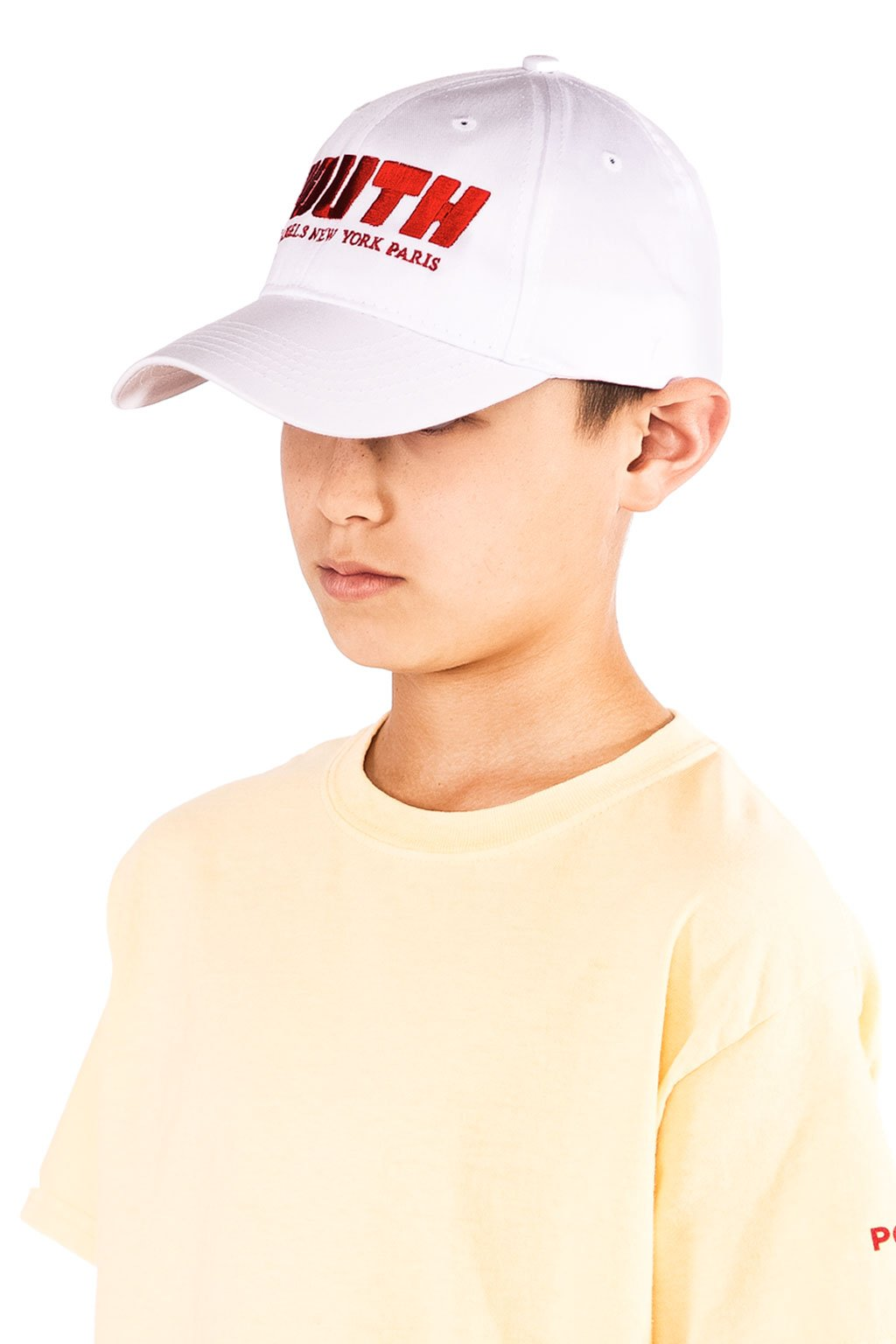 White Youth Cap - Port 213.com