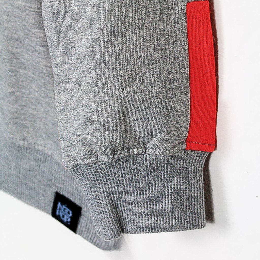 Unisex Color Blocked Sweatshirt (4-8yrs) - Port 213.com