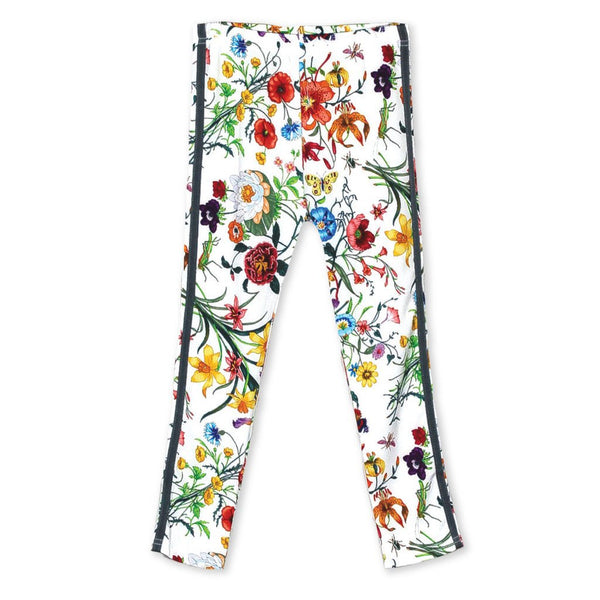 Girls Floral Leggings (3-10yrs) - Port 213.com