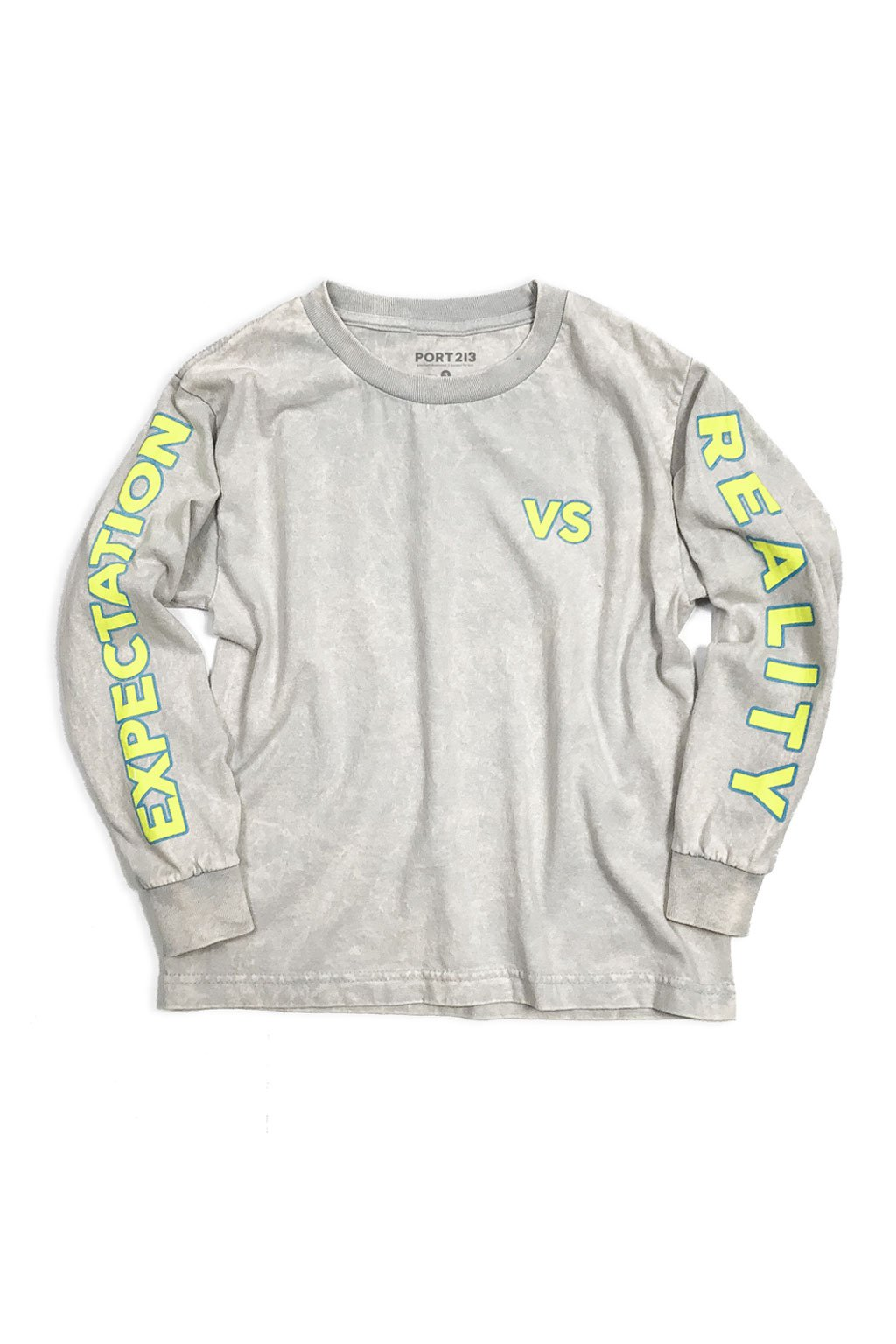 Grey Expectation VS Reality Long Sleeve T-shirt - Port 213.com