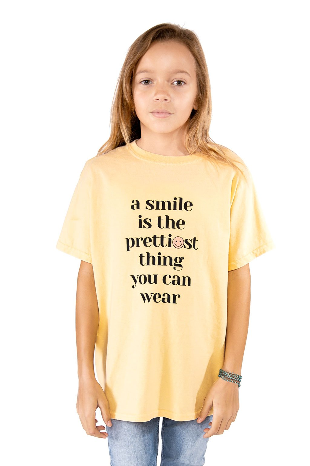 Yellow Smile T-shirt - Port 213.com