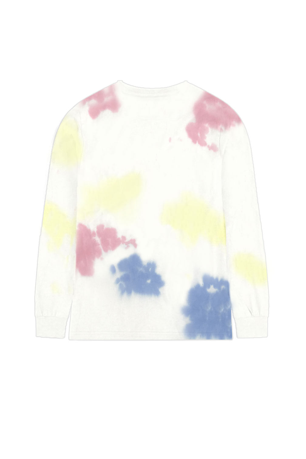 Tie Dye Happy Thoughts Long Sleeve T-shirt