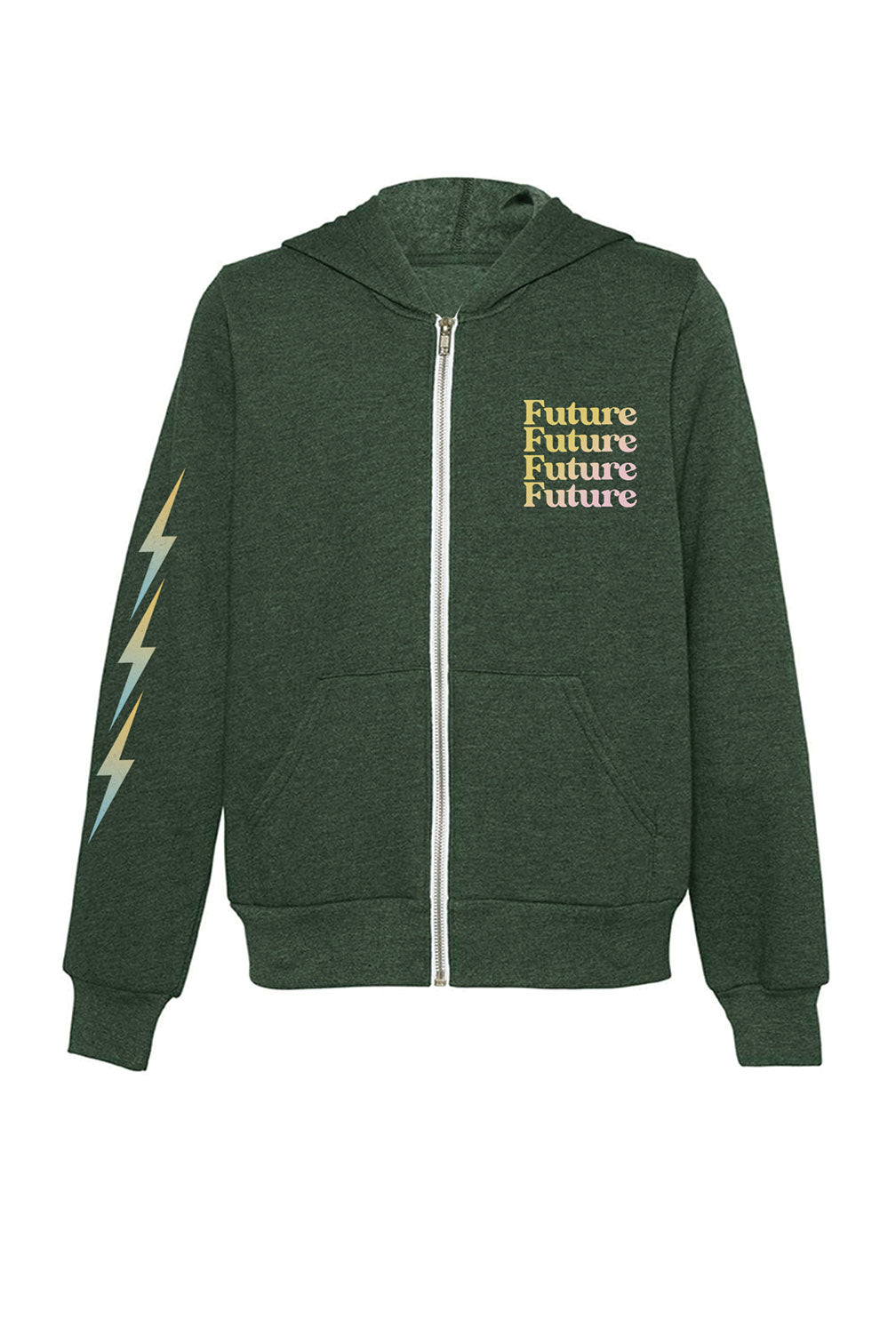 Sponge Fleece Future Zip Hoodie