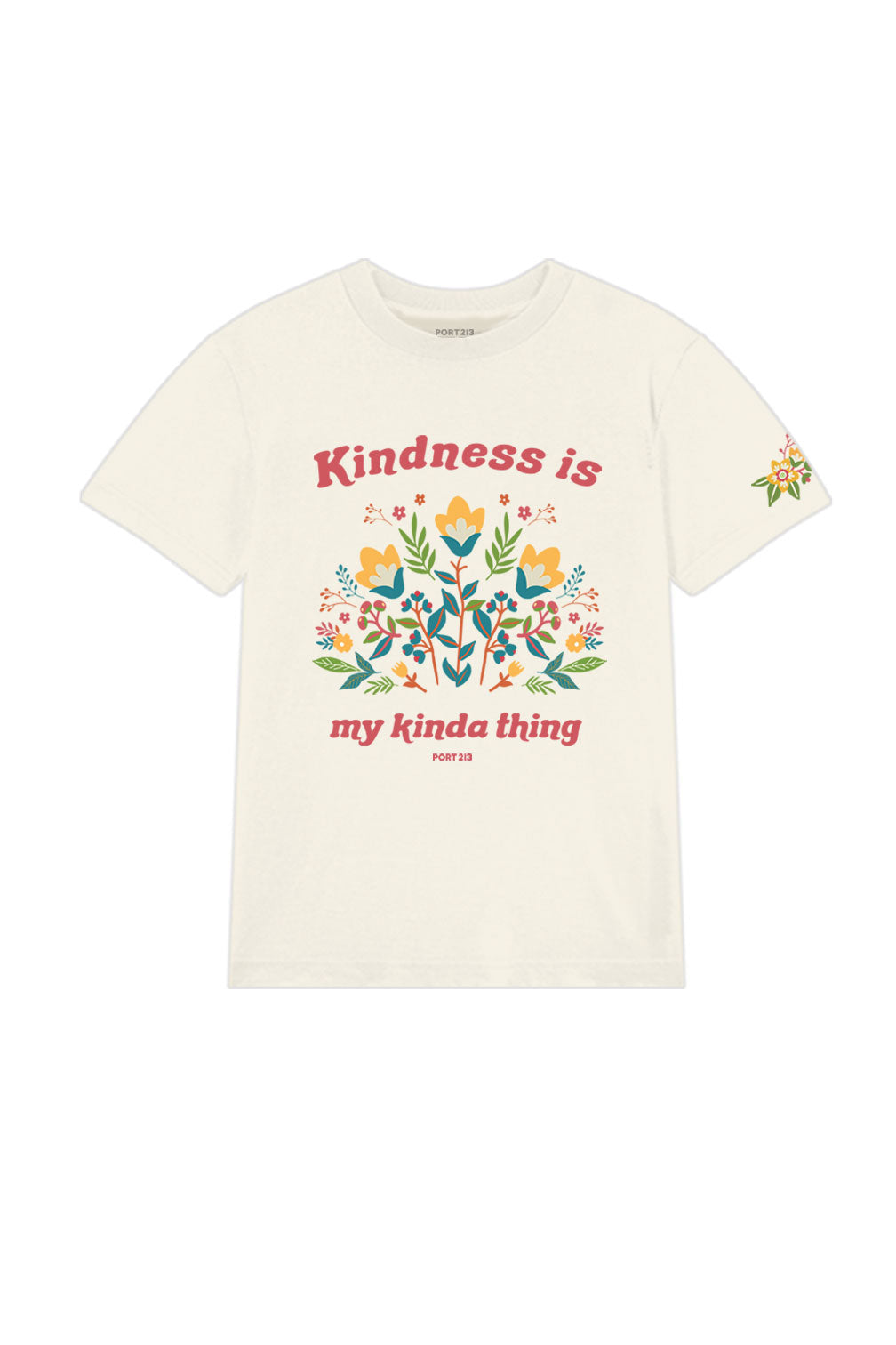 Ivory Kindness T-shirt