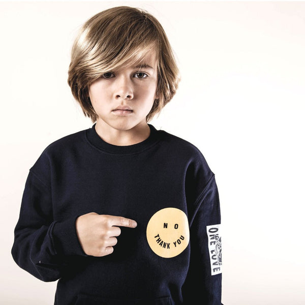 Smiley Pullover Sweatshirt (4-8yrs) - Port 213.com