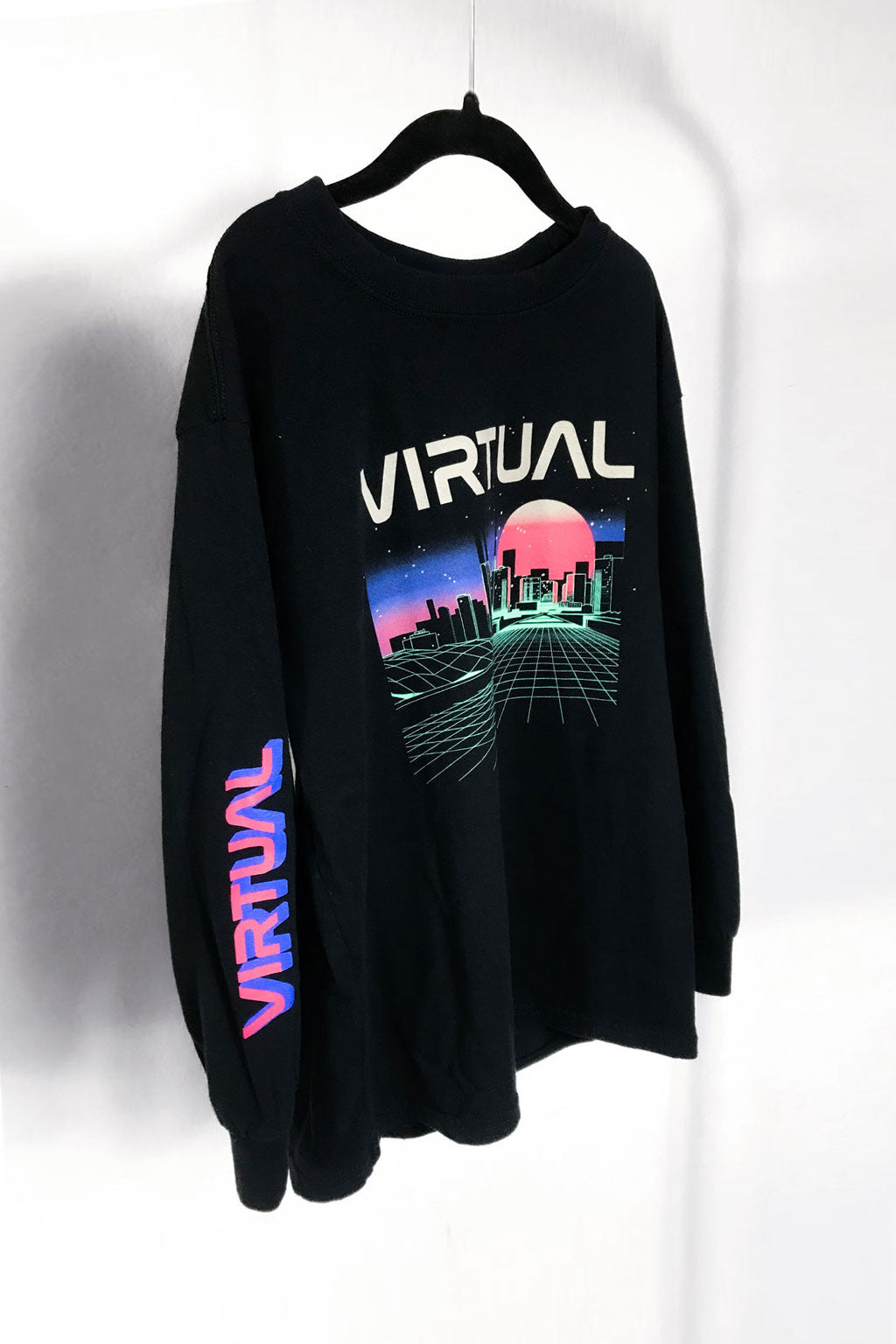Virtual  Long Sleeve T-shirt
