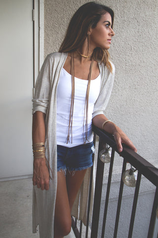 2 in 1 Fringe Wrap